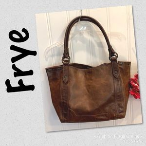FRYE Melissa large leather tote